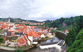 The old town of Cesky Krumlov — Stock Photo