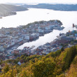 The Bergen from the top — Stock Photo #24211359