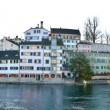 Panorama of zurich city — Stock Photo