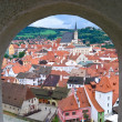 From the castle - Stock Photo