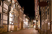 The old street of Hamelin — Stock Photo