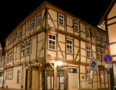 The old half-timbered house — Stock Photo
