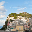 The architecture of Capri island — Stock Photo