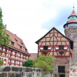 The city of Nuremberg - Stock Photo