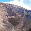Stock Photo: Crater of Vesuvius