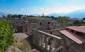 Das stadtbild von pompeji — Stockfoto