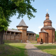 Stock Photo: The wooden church
