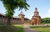The wooden church — Stock Photo