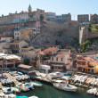 The quarter of Marseille — Stock Photo