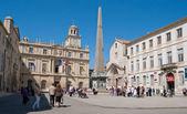 The central square of Arles — Stock Photo