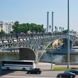 The bridge over Moscow River — Stock Photo