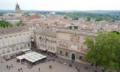 The central square of Avignon — Stock Photo