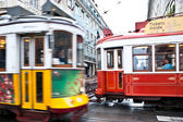 Fast trams — Stock Photo
