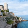 The Antibes castle — Stock Photo