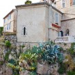 Stock Photo: The medieval house in Antibes