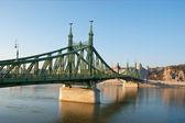 The scenic bridge — 图库照片