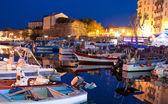 The evening port — Stock Photo
