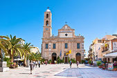 The Cathedral of Chania — Stock Photo