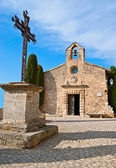 The romanesque church — Stock Photo