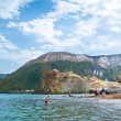 Stock Photo: Beach on Vulcano
