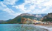 The beach on Vulcano — Stock Photo