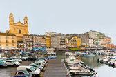 The port of Bastia — Stock Photo