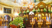 The interior of the church — Stock Photo