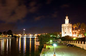 Evening in Seville — Stock Photo
