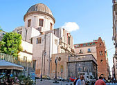 The basilica — Foto Stock