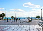 The scenic square — Stock Photo
