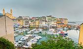 The old town of Bastia — Stock Photo