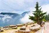 Walking in Delphi — Stock Photo
