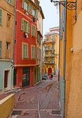 The streets of Nice — Stock Photo