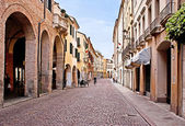 The italian street — Stock Photo