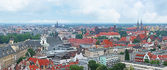 The spires of Wroclaw — Stock Photo