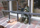 The small prisoner — Stock Photo