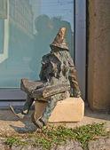 O gnome inteligente — Fotografia Stock