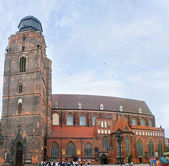 The brick church — Stock Photo