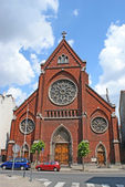 The Romanian church  — Stock Photo