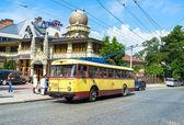 The retro trolley — Stock Photo