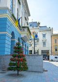 De muren van stadhuis — Stockfoto
