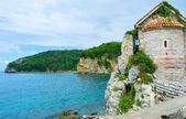 La costa di budva — Foto Stock