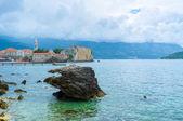 The rocky coastline — Stock Photo