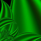 Background big saturated green leaves — Stockfoto