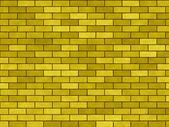 "Background yellow ""A brick wall"" — Stock Photo"