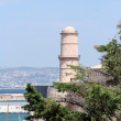 Stock Photo: Le fort saint jean, marseille, france