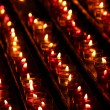 Candles in the darkness — Stock Photo