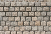Background of sandstone brick wall texture — Stock Photo