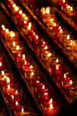 Candles in the darkness — Fotografia Stock