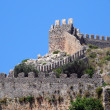Stock Photo: Alanya castle walls